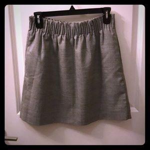 Grey Jcrew Skirt with Pockets